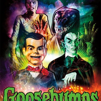Goosebumps - Monsters Wall Poster RP13944 22x34 UPC882663039449