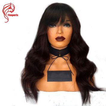 Hesperis Denisty Lace Front Human Hair Wigs (8 - 26 Inches)