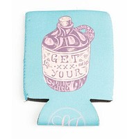Get Your Shine On Can Holder in Seafoam by Lauren James - FINAL SALE