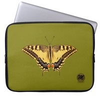 Swallowtail Butterfly Laptop Sleeve