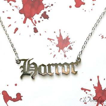 """""""HORROR"""" NECKLACE(S)"""
