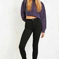 BDG Mid-Rise Ankle Cigarette Jeans in Black at Urban Outfitters