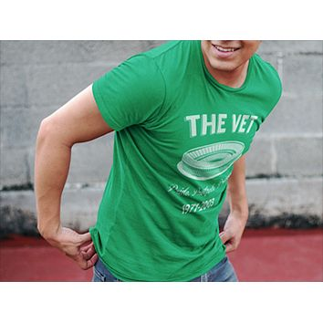 Retro Philadelphia The Vet Football Edition Cotton T-Shirt