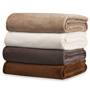 Buy WarmZone™ Eversoft Twin Blanket in Khaki from Bed Bath & Beyond
