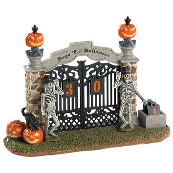 Lemax® Halloween Countdown Gateway