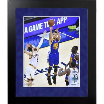 Golden State Warriors 2015 Championship Play of the Game 8x10 Framed Photo