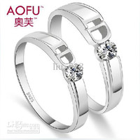 Wedding Ring Couple rings Sterling Silver Couple Ring Free lettering