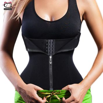 New Waist Trainer Seamless Belt Hourglass Zipper Corset for Women Weight Loss hot Body Shaper Modeling Strap Slimming Shapewear