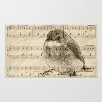 Songs of Birds Rug by Nirvana.K
