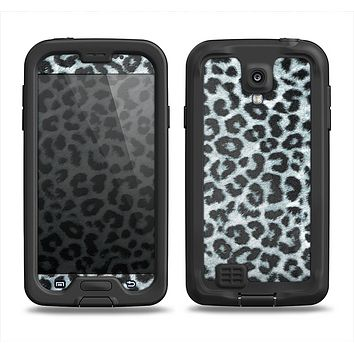 The Real Leopard Animal Print Samsung Galaxy S4 LifeProof Nuud Case Skin Set