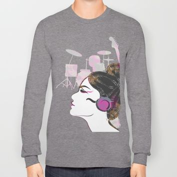 Music Overdose Long Sleeve T-shirt by Famenxt | Society6