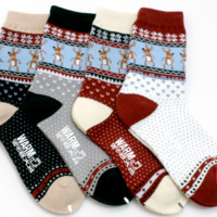 Reindeer Thick Winter Socks LAST ONE