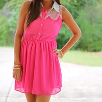 Western Cutie Dress, Pink