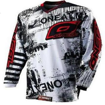 cycling New product 2017 ONEAL moto Jersey MX MTB Off Road Mountain Bike DH Bicycle moto Jersey DH BMX motocross jersey