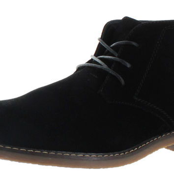 Moda Essentials Men's Desert Chukka Boots Vegan Suede