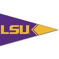 """Licensed LSU Tigers Official NCAA 2.5""""x4.25"""" Felt Pennant Magnet by Wincraft 123053 KO_19_1"""
