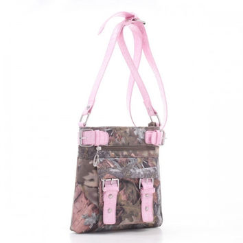 * Kings® Camo Messenger Bag In Km/Pk