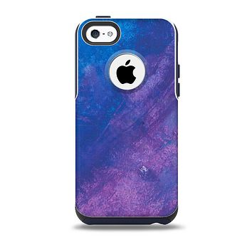 The Blue & Purple Pastel Skin for the iPhone 5c OtterBox Commuter Case