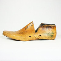 Antique Wood Shoe Form