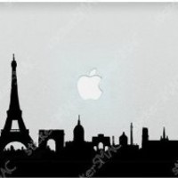 Greetings from Paris Eiffel Tower Mac Sticker MacBook Decal