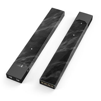 Skin Decal Kit for the Pax JUUL - Black Marble Surface