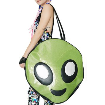 Happy Alien Mega Tote