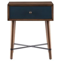 Galena Accent Table - Blue