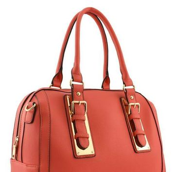 The Cleo FAUX LEATHER  HANDBAG