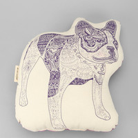 The Rise and Fall French Bulldog Pillow