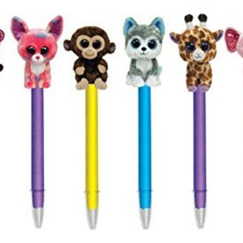 Ty Beanie Boo's Plush Pen, Assorted Character Will Vary, 1 Count, 811-8