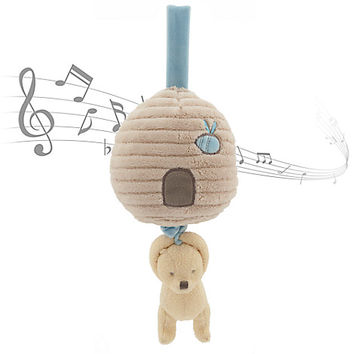 Winnie the Pooh Classic Plush Musical Pull for Baby   Disney Store