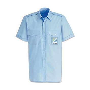 Team Zissou Short Sleeved Pilot Shirt The Life Aquatic With Steve Zissou