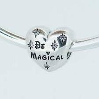 Pandora Disney Parks Be Magical Minnie Mickey Charm Bead Authentic Pandora