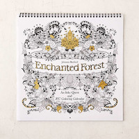 2017 Enchanted Forest Coloring Wall Calendar - Urban Outfitters