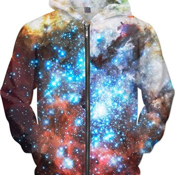 The Most Beautiful of Stars | Universe Galaxy Nebula Star Clothes | Rave & Festival Shirt