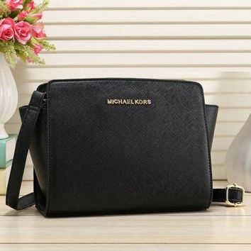 Michael Kors New Fashion Women Leather Satchel Bag Shoulder Bag Crossbody