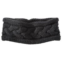 Merona Black Soft Knit Headband Solid