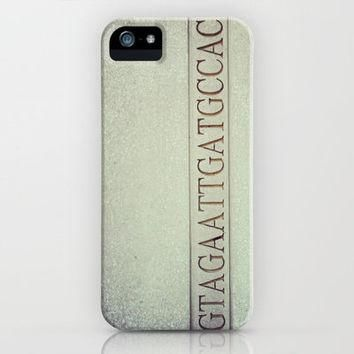 DNA strand, science love iPhone Case by Jordan Virden | Society6