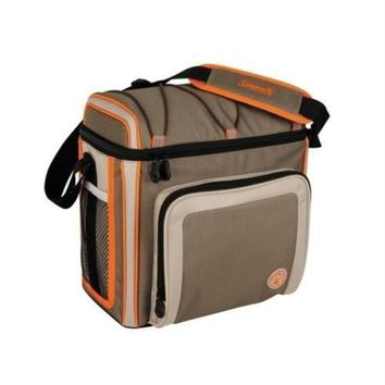 Coleman 30 Can Soft Cooler Outdoor With Liner Tan 3000002168