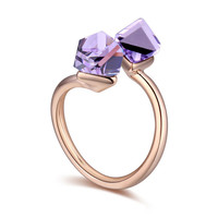 New Arrival Gift Stylish Shiny Jewelry Crystal Ring [4989649156]