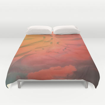 Head in the Clouds Duvet Cover by DuckyB (Brandi)
