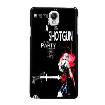 THE PRETTY RECKLESS QUOTES Samsung Galaxy Note 3 Case Cover