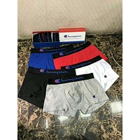 Champion Stylish Men Modal Cotton Underwear(5-Color) I12644-1