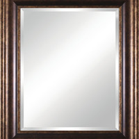 Vanity Beveled Mirror - Traditional - Bathroom Mirrors - by Art Effects Inc.
