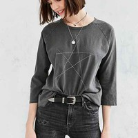 Truly Madly Deeply Abstract Star Raglan Tee