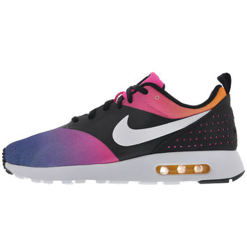 "Nike Air Max Tavas ""Sunset"" - Black/White-Pink Pow-True Yellow"