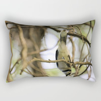 What's Up? Rectangular Pillow by Theresa Campbell D'August Art