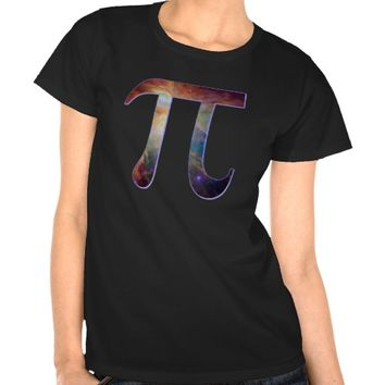 Space pi happy pi day galaxy math geek gift