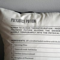 polyjuice potion wizard's pillowcase