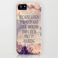 Pretty Amazing  iPhone Case by Rachel Burbee | Society6